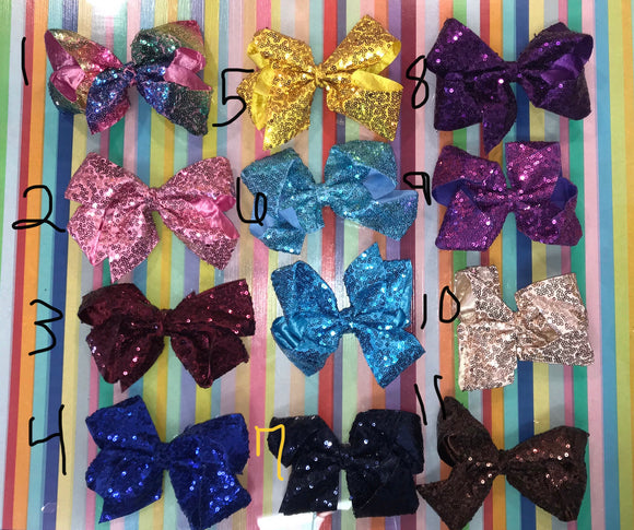 Large Sparkly bow