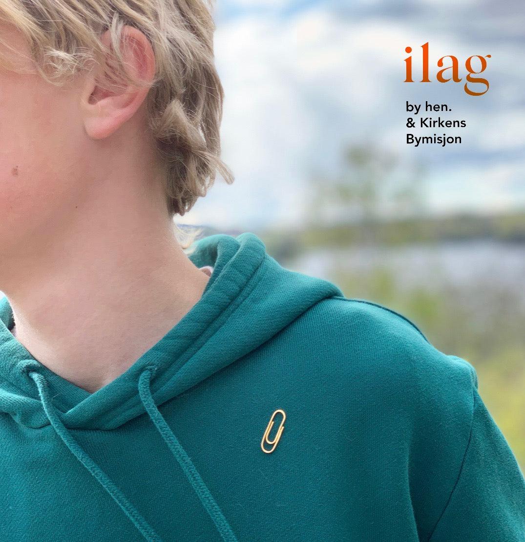 ilag pin, forgylt
