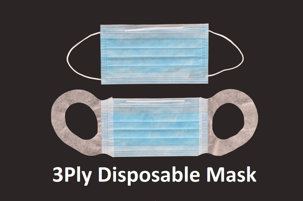 Antivirus Disposable 3 Ply Safety Mask 100s