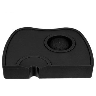 Espresso Corner Tamping Mat with Holder & Slot