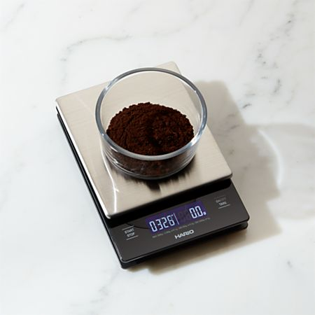 Hario V60 Metal Drip Scale with Timer