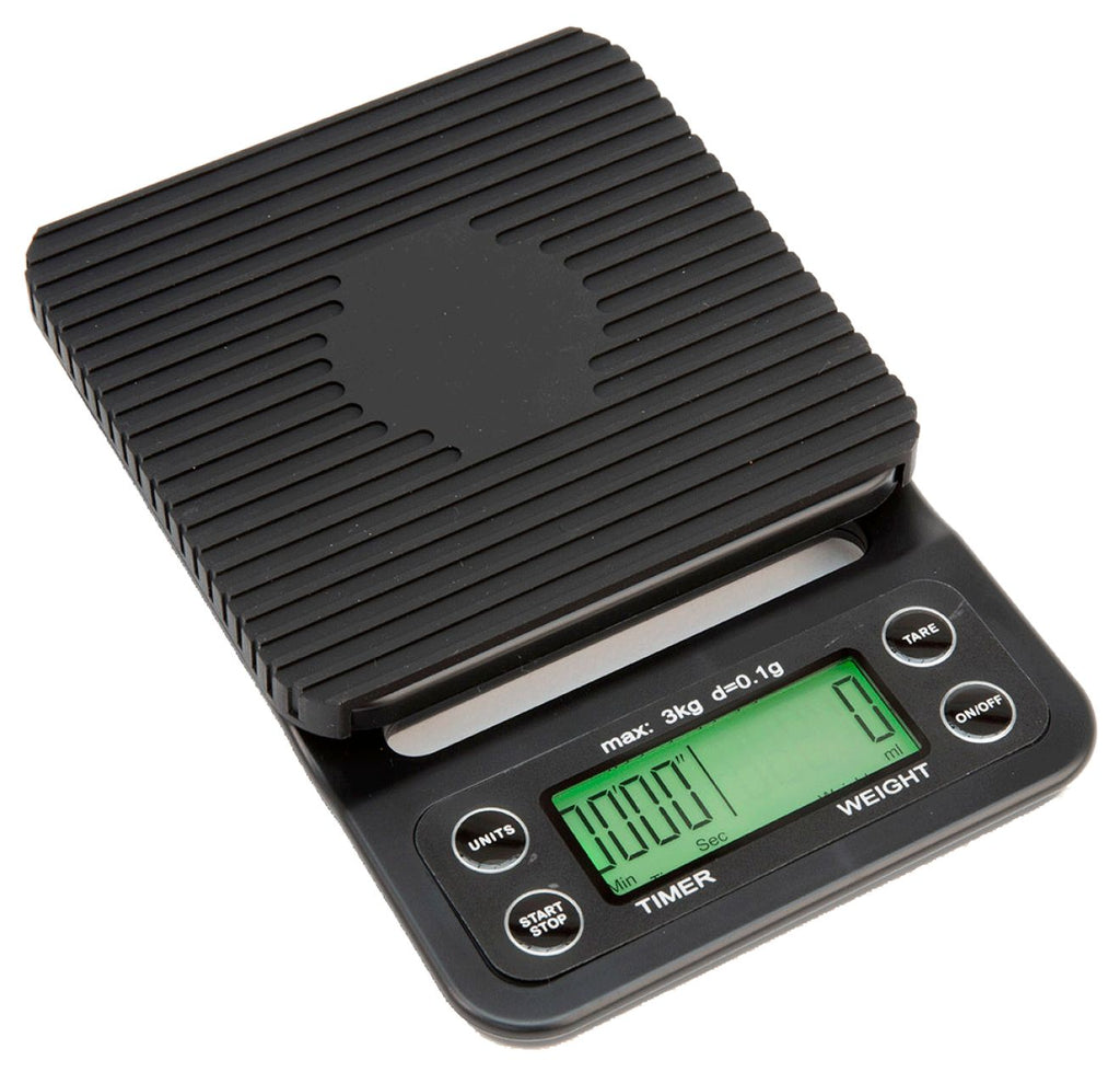 Digital Coffee Scale with Heat Mat