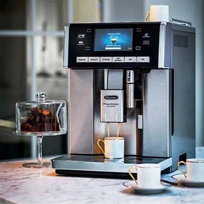 DeLonghi PrimaDonna Exclusive Fully Automatic (Bean-to-Cup) Coffee Machine