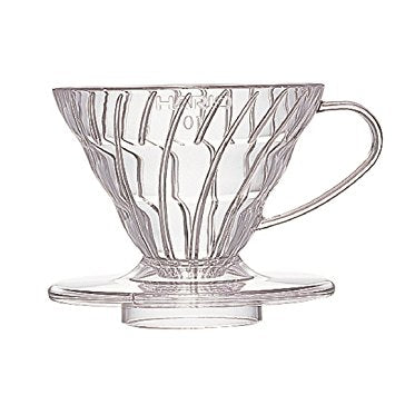 Hario V60 Pour-Over Clear Plastic Dripper