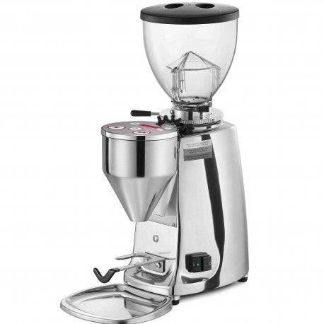 Mazzer Mini On-Demand Polished Aluminium Espresso Grinder