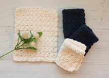Load image into Gallery viewer, Cotton Washcloth - White