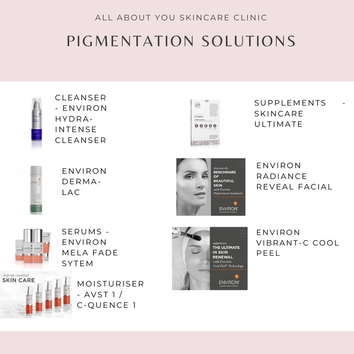 Ideal solutions to help reduce pigmentation