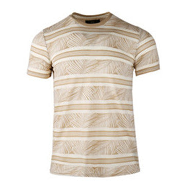 Men Cotton Short Sleeve T-shirt (BGKT 7054-KHAKI)