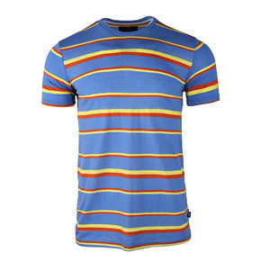 Men-Cotton-Short-Sleeve-T-shirt-(BGKT-7020-LT-BLUE)