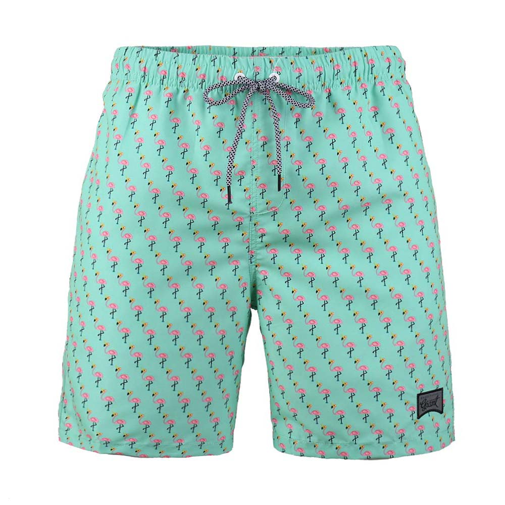 Men's Beach Vacation Swimwear  Shorts (BGT 2009-MINT CHIP)