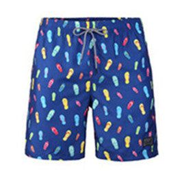 Men's Beach Vacation Swimwear  Shorts (BGT 2019-BLUE)