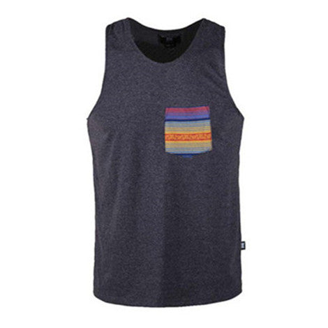 Men's-Sleeveless-Shirts-Beach-Vacation-Active-Tee-Gym-Tank-Top-(BGKT-7132T-MULTI-JACQUARD)