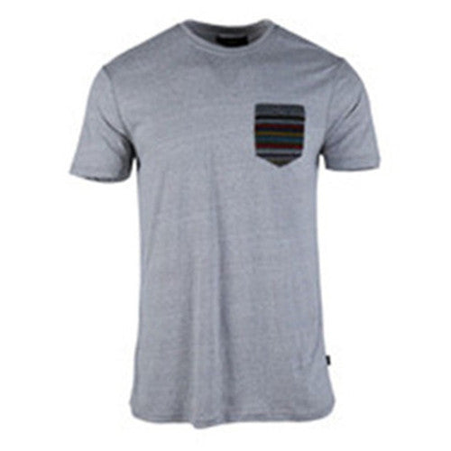 Men's-Crew-Neck--Running-T-Shirt-(218020-GRAY)