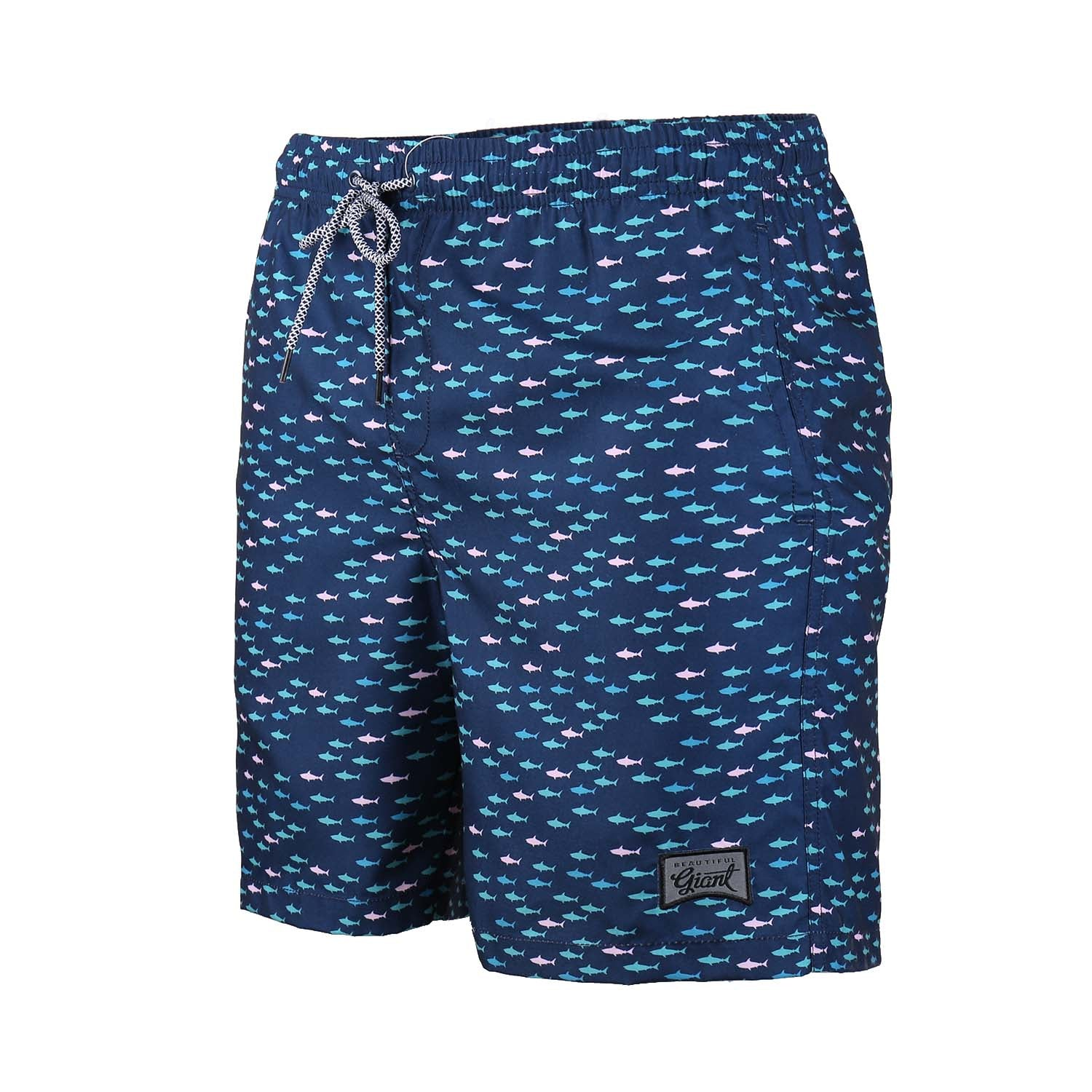 Men's-Beach-Vacation-Swimwear--Shorts-(BGT-2011-NAVY)