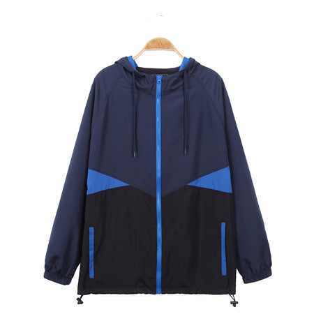 Men's Hooded Lightweight Windbreaker( YS8J06)