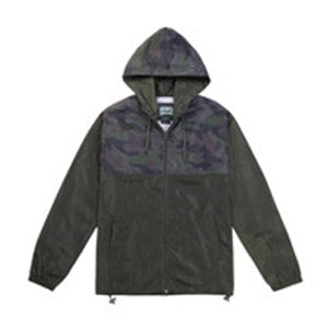 Men's Full Zip Lightweight Windbreaker( YS7J07-CAMO)