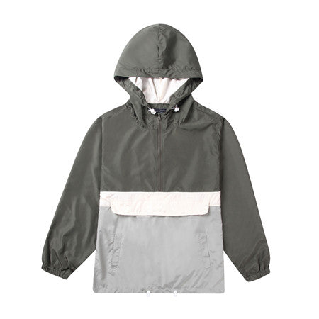 Men's-Hooded-Lightweight-Windbreaker(YF7J01-GREEN)