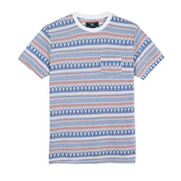 Men Cotton Jacquard T-shirt (218101)