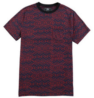 Men Cotton Jacquard T-shirt (218424)