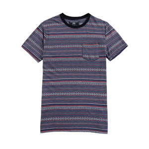 Men Striped Print T-shirt (2184140)