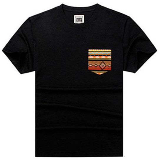 Men's Crew Neck  Running T-Shirt (216037)