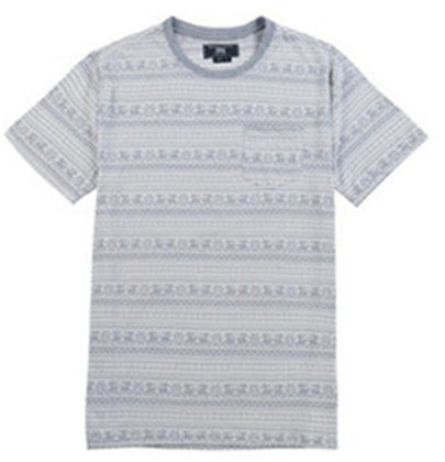 Men Cotton Jacquard T-shirt (218413)