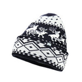 Men's-Warm-Winter-Cuff-Skull-Hat-Knit-Beanie-Ski-Cap(YF7A04-DEER-NO-POM)