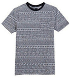 Men Cotton Jacquard T-shirt (218207)