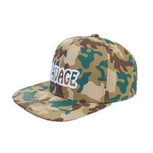 MEN'S ADJUSTABLE SNAPBACK MESH TRUCKER HAT BASEBALL CAP(BGCAP02-S CAMO)