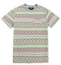 Men Cotton Jacquard T-shirt (218103)