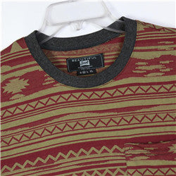 Men Cotton Jacquard T-shirt (2184112)