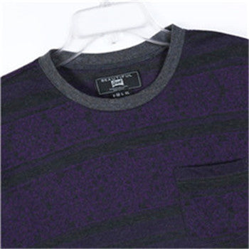 Men Cotton Jacquard T-shirt (218321)