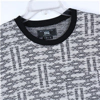 Men Cotton Jacquard T-shirt (218407)