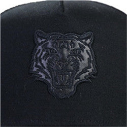 Men's-Printed-Trucker-Adjustable-Snapback-Hat-Cap(YF7A01-F-BLACK)