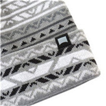 MEN'S KNIT BEANIE STRETCH FIT CAP(YF8HBD02-GREY)