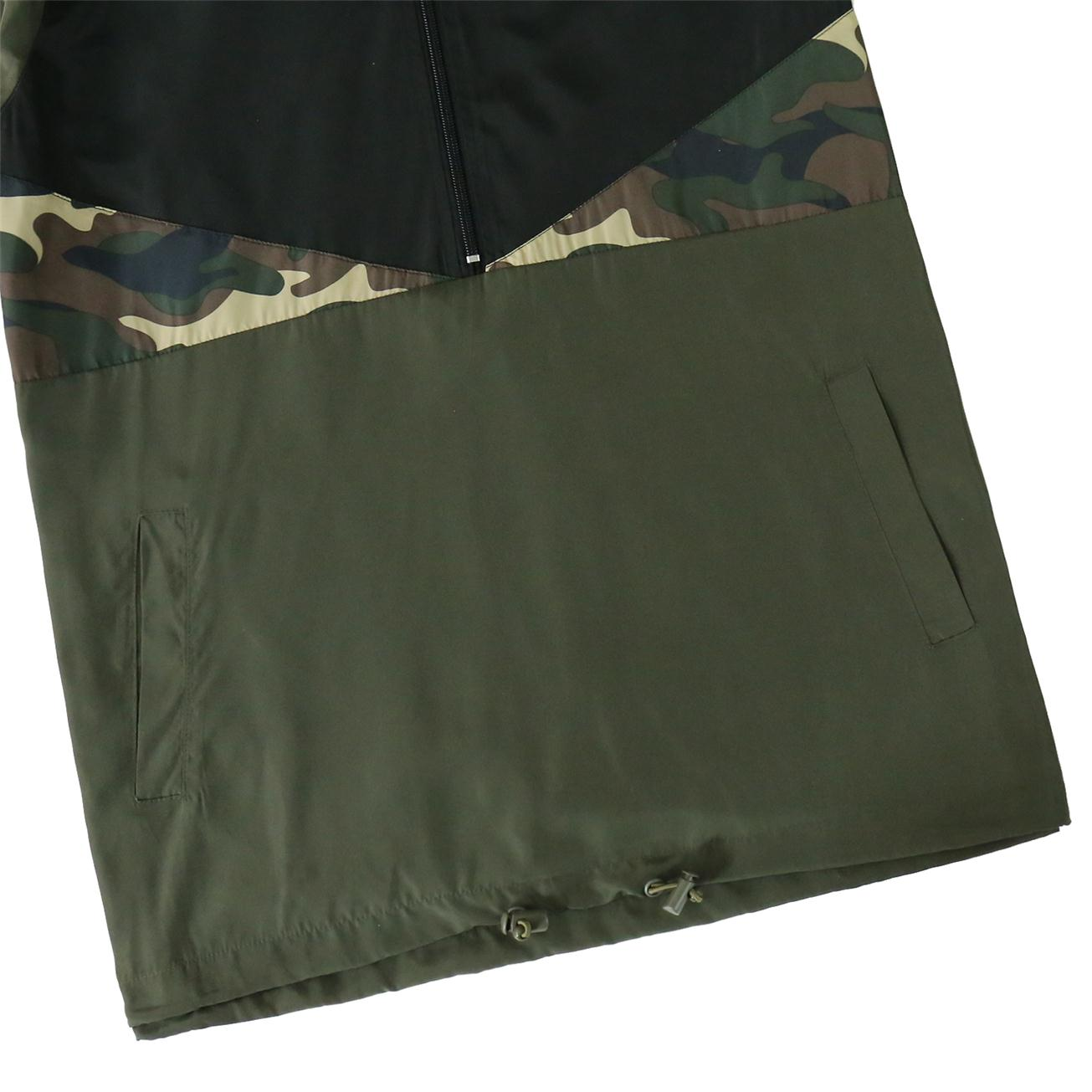 Men's Hooded Lightweight Windbreaker( BGWB3061-CAMO)