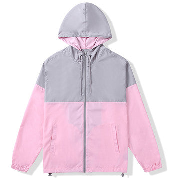 Men's Hooded Lightweight Windbreaker(415023-2)