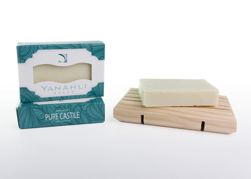 Castile with Organic Hemp Seed Oil (Small Bar) | Yanahli Essential Oil Soap
