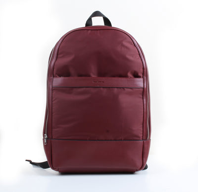Burgundy Multi-purpose Backpack