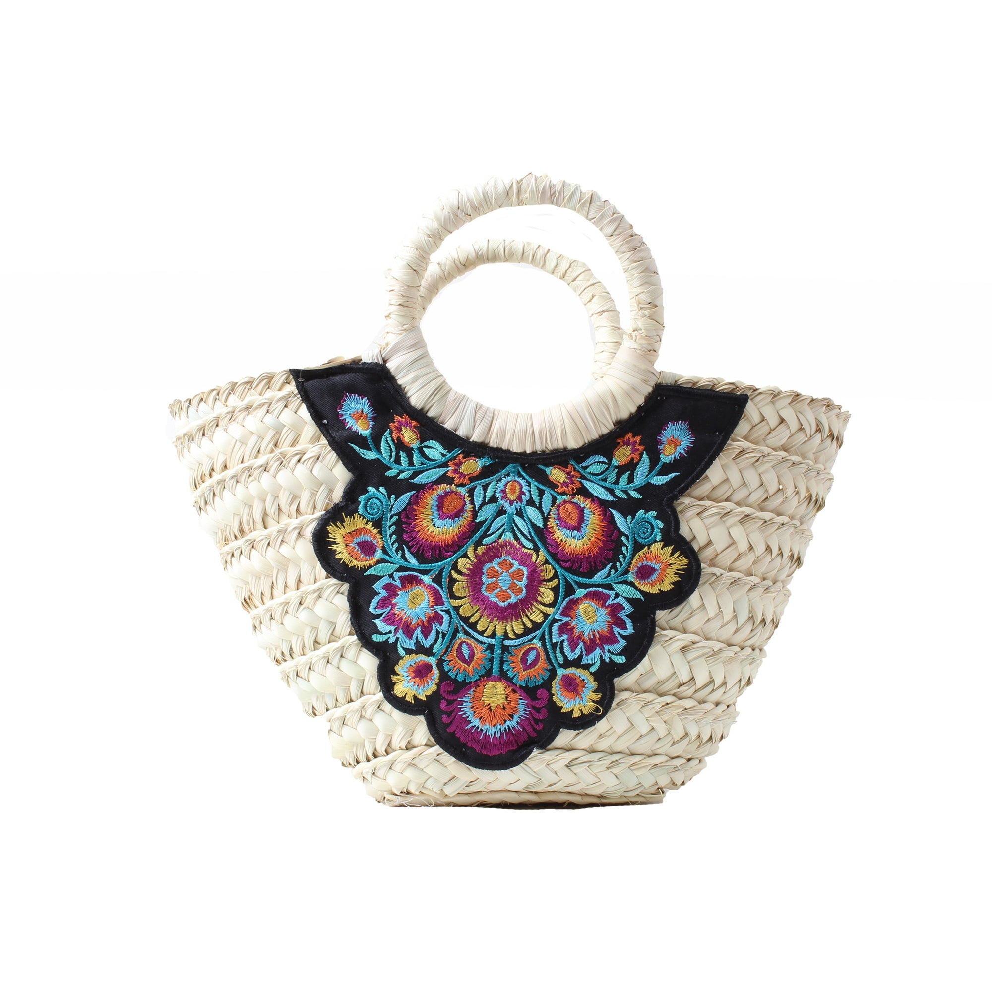 Wicker Bag Gardenia Small