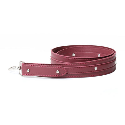 Studded Handle Burgundy
