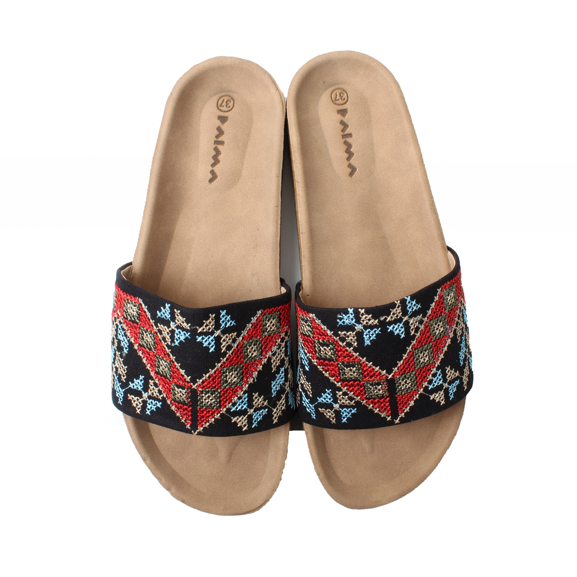 Slippers Black Etamine