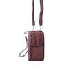 Mobile Purse Burgundy