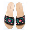 Slides Lotus Black