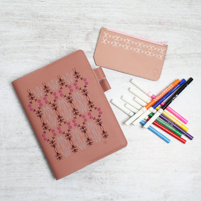 Notebook Cover Pink