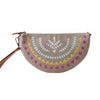 Crescent Clutch Lavender