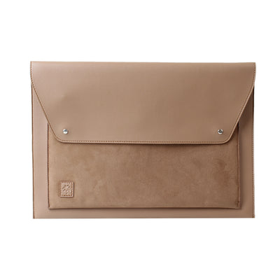 Laptop Sleeve Farfallo Cafe Suede