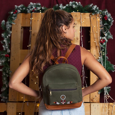 Canvas Backpack Dreamcatcher