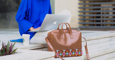 Etamine Cafe x Pink  Laptop Bag