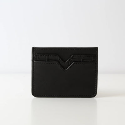 Card Holder Plain Black